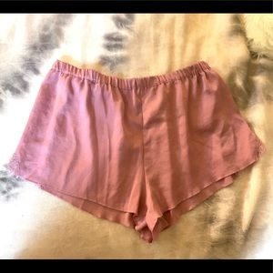 Victoria's Secret Silk PJ Shorts